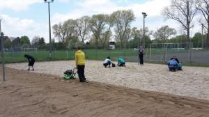 Beachplatzpflege